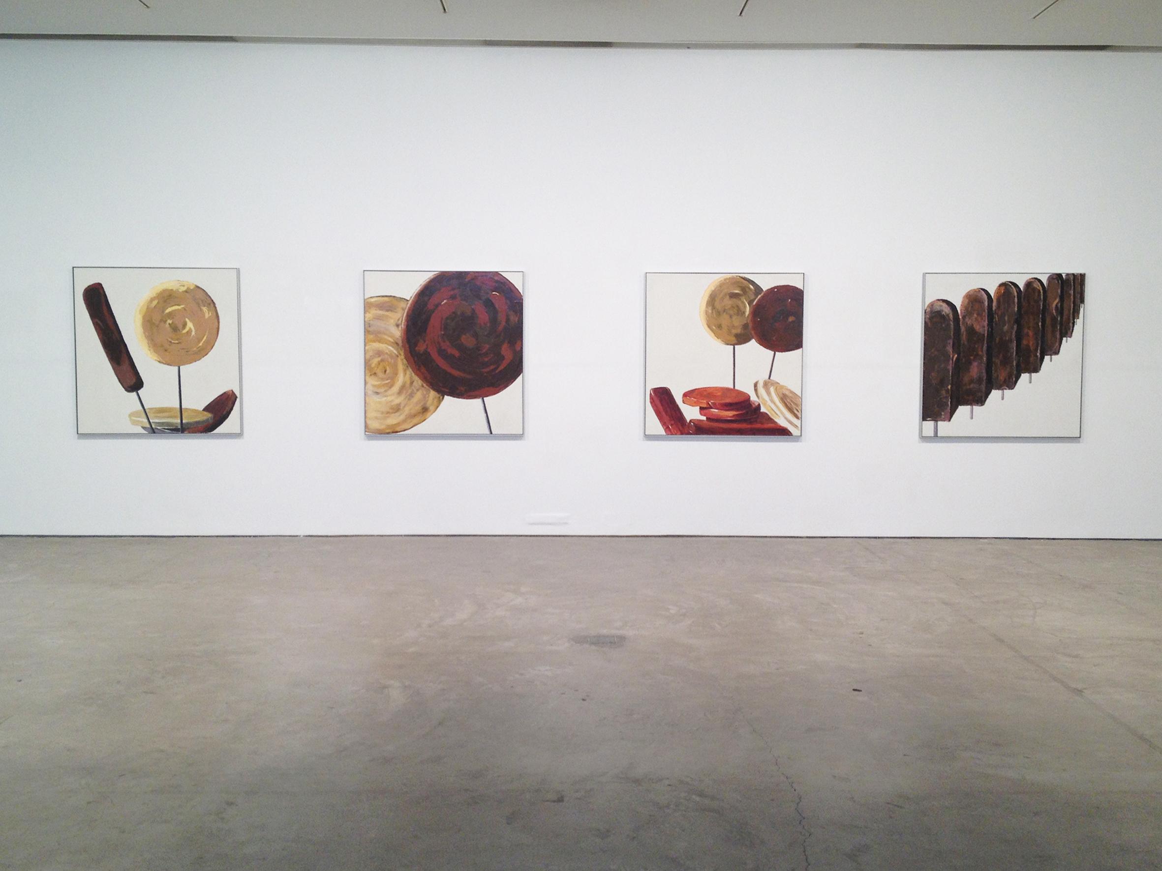 MARGARITA VITALI - SARANTOPOULOU ± Exhibition invitation, Ileana Tounta Contemporary Art Center