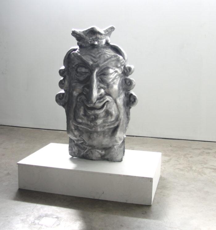 Δημήτριος Αντωνίτσης , Carnival Royal, 2011 χυτό αλουμίνιο 155x100 εκ