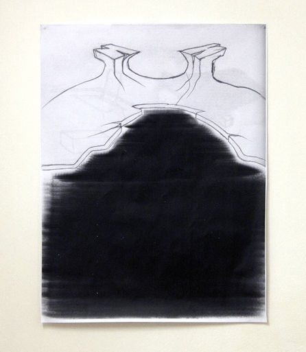 As above so below (After Behemoth), 2011 Photocopy 100X75 cm