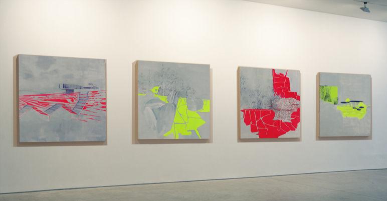 Frini Mouzakitou Image Factory (solo show), 2009 installation view