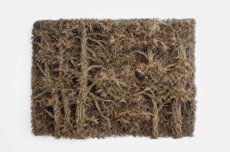 Martha Dimitropoulou Narcissos, 2013 Pine needles 140x200 cm