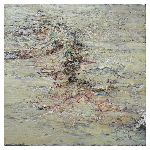 Unknown Victim, 2009 oil on wood 140 x 140 cm