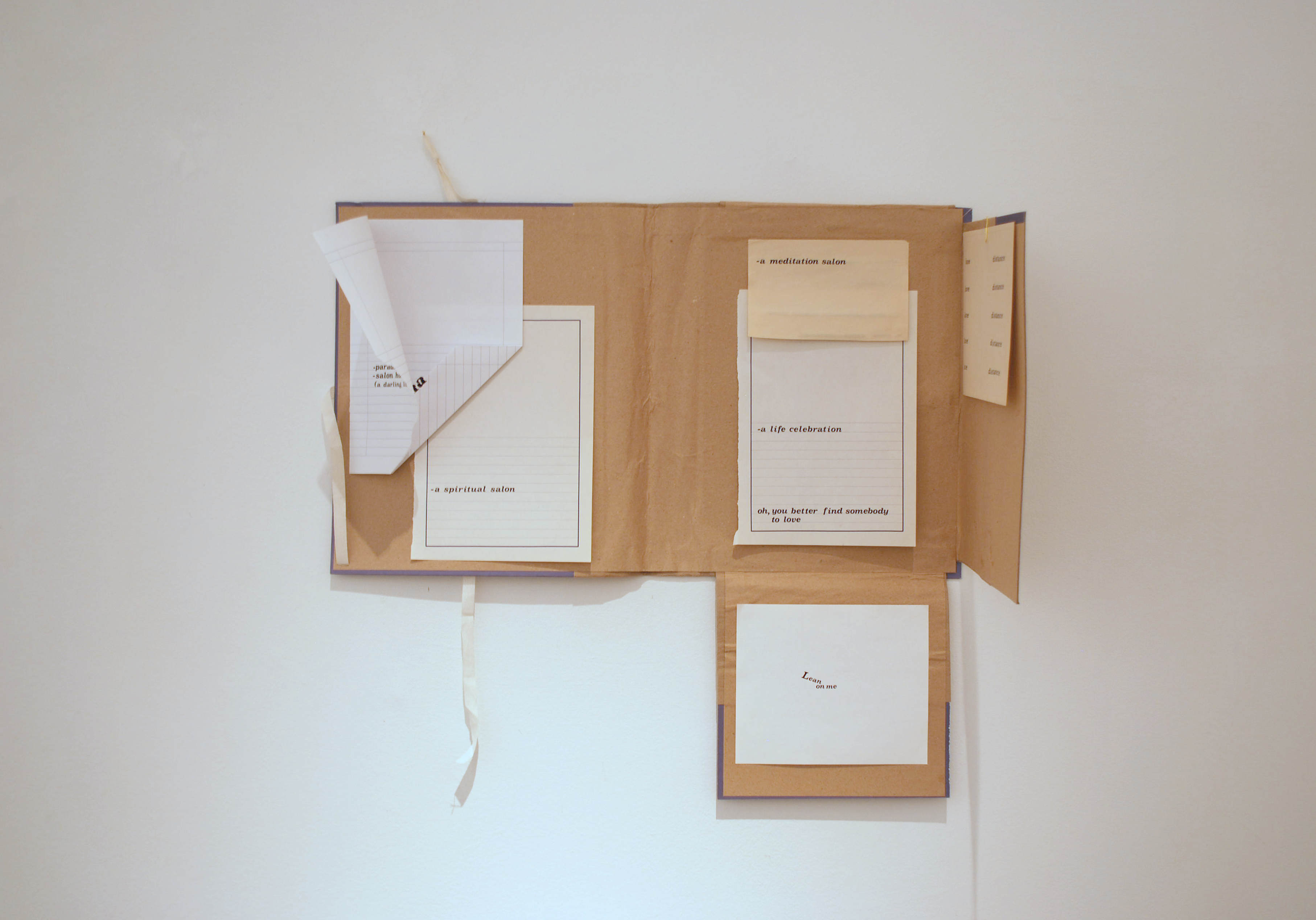 Dimitra Vamiali The Fine Qualities of Distressed Paper Ileana Tounta Contemporary Art Center Exhibitions