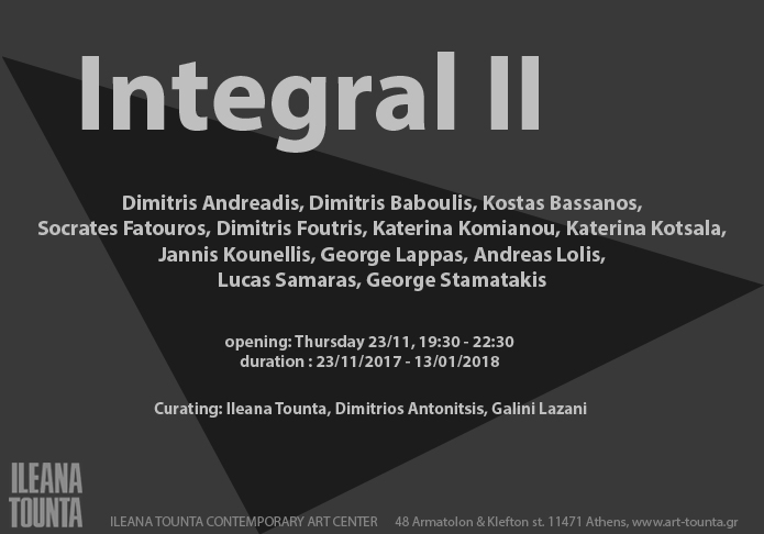 integral II contemporary art group show
