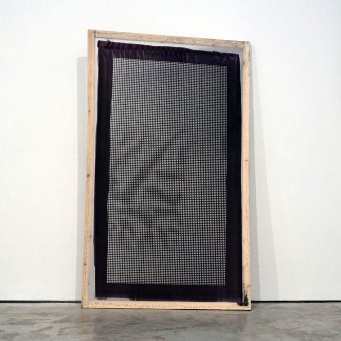 EVA MITALA Untitled, 2017 Silk screen canvases 160 x 95 cm