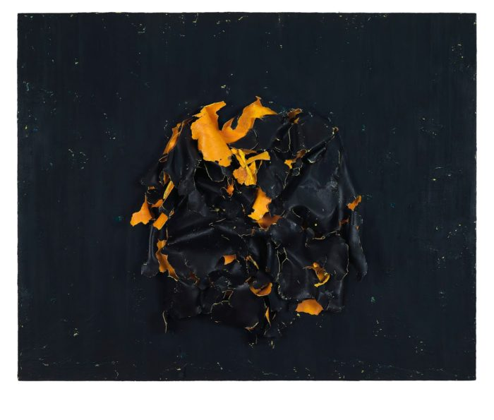 Eugenia Apostolou, Crushed, Oil on Canvas, 2013, 150x120cm